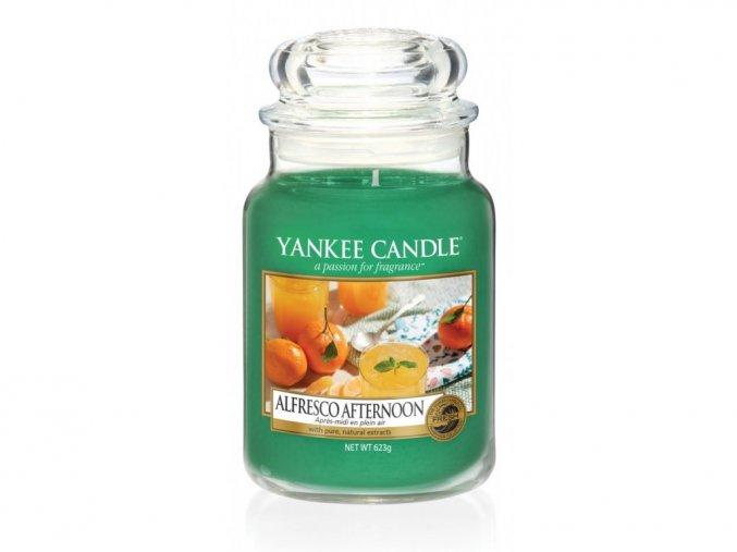 yankee candle vonna svicka alfresco afternoon classic velky 623 g