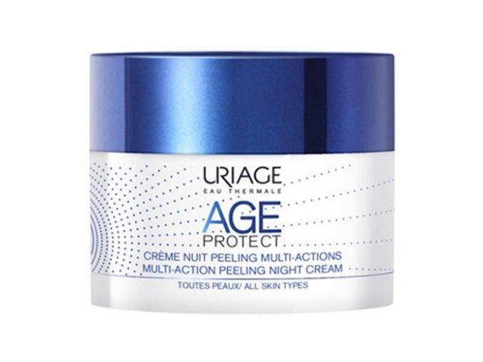 Uriage Age Protect Multi Action Noční peelingový krém 50 ml