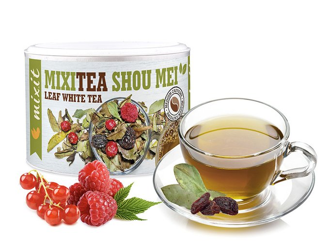 Mixitea Bílý čaj Showman Malina