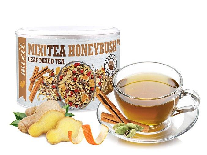 Mixitea – Dr. Honeybush s kořením Zázvor