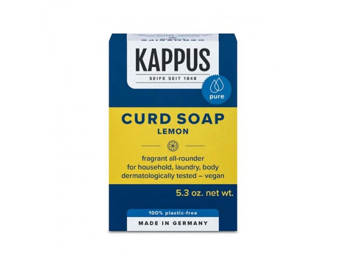 kappus jádrové mýdlo citron