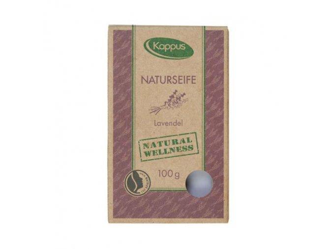 kappus přírodní mýdlo Levandule krabička