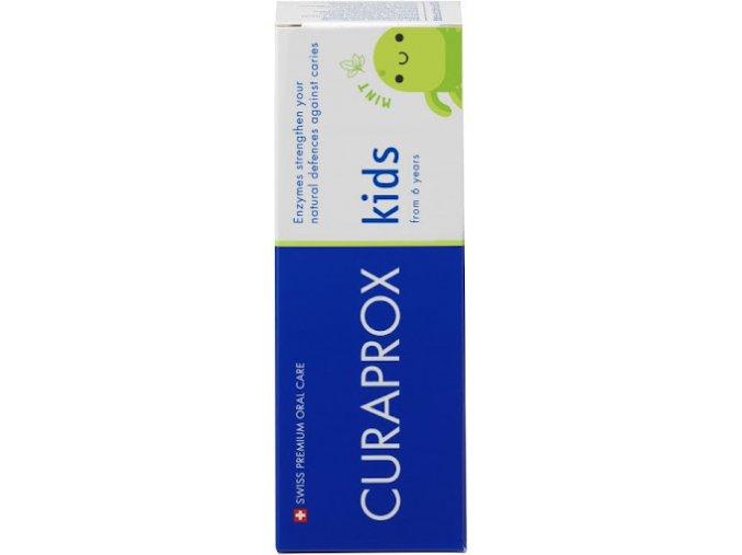 Curaprox Kids dětská zubní pasta od 6 let máta 60 ml