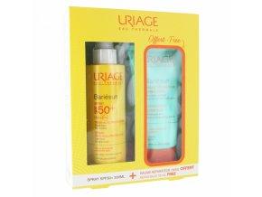 uriage bariesun spray spf50 200ml baume reparateur apres soleil 150ml