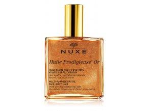 Nuxe Huile Prodigieuse OR multifunkční suchý olej se třpytkami