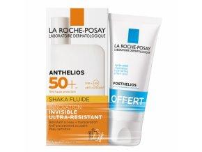 anthelios shaka fluide spf50 50ml parfém + posthelios 40ml