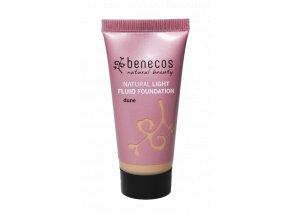 benecos lehky tekuty makeup dune