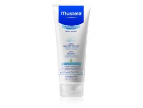 mustela bebe myci gel 2v1 200ml