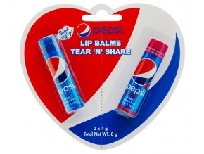 Pepsi Tear N Share Lip Balms duo