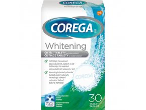 corega whitening tablety 30ks