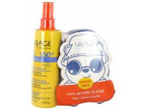 uriage bariesun spray+ručník
