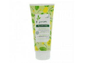 klorane junior gel douche 2 en 1 poire 200 ml face