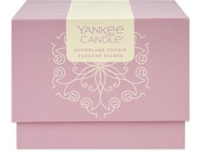 yankee candle darkovy box 198g snowflake cookie