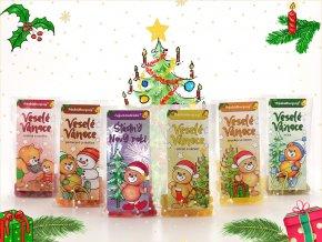 medvidkovy caj s prichuti skořice+pomeranč