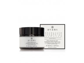 deluxe hyaluronic acid vivifying face eye night cream