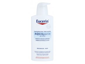 eucerin aquaporin active telove mleko pro suchou a citlivou pokozku 25