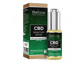 CBD bioaktivní sérum 20 ml komplet