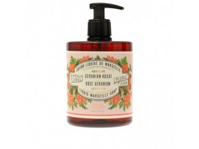 liquid marseille soap geranium rose