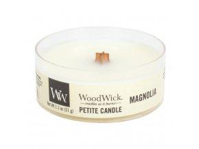 woodwick magnolia petite svicka