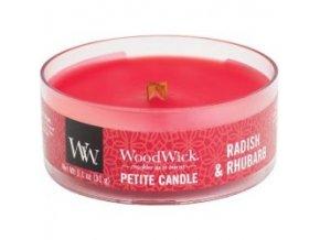 woodwick rhubarbe petite svicka