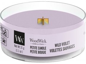 woodwick petite wild violet