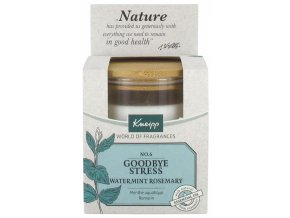 kneipp perfumed candle good bye stress