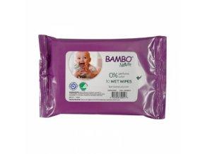 Bambo Nature Lingettes Bébé Format Voyage 10 unités