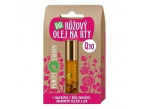 purity vision ruzovy olej na rty 10 ml