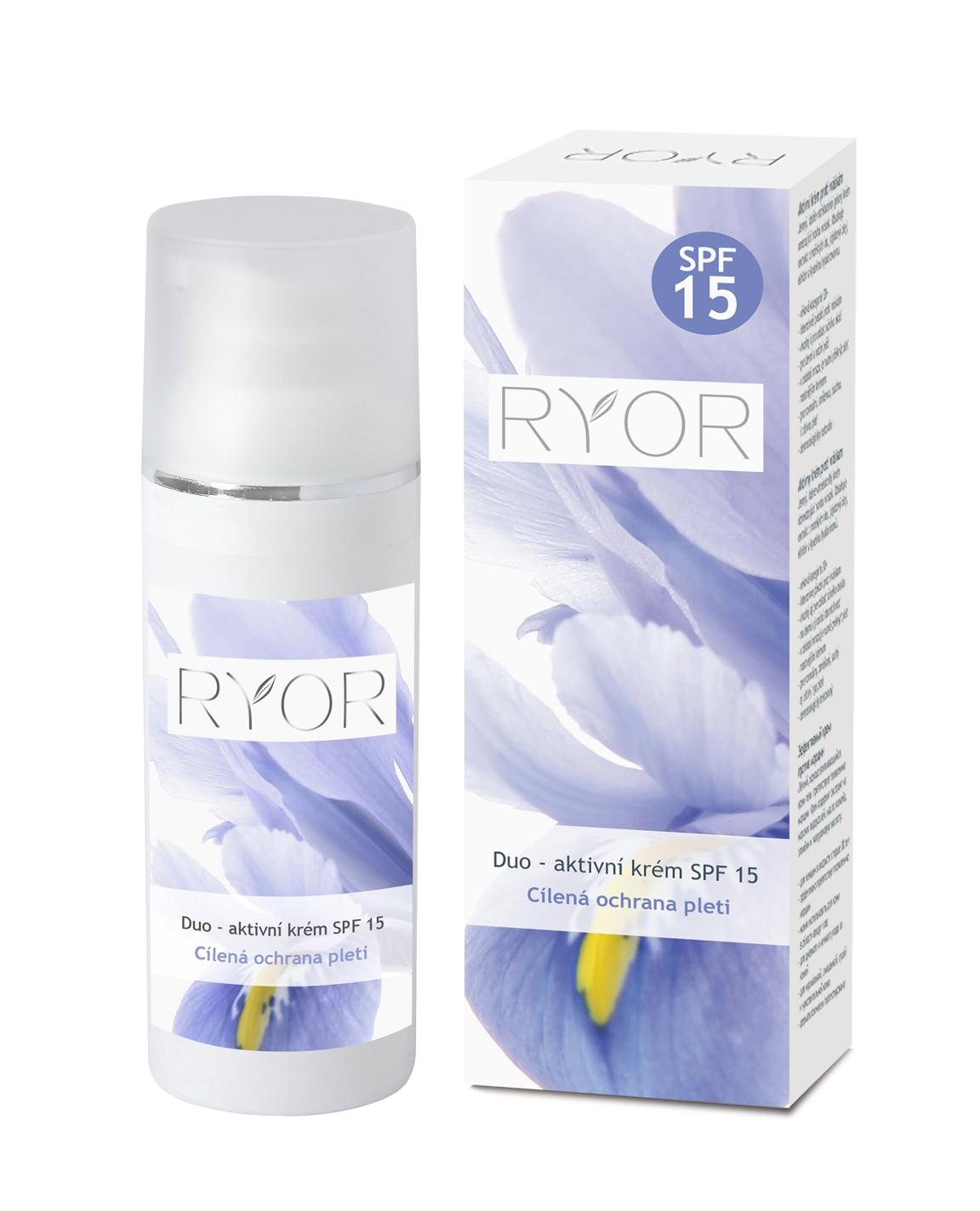 RYOR Duo - aktivní krém SPF 15 50ml