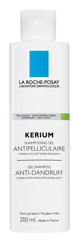 La Roche-Posay Kerium šampon proti mastným lupům 200ml