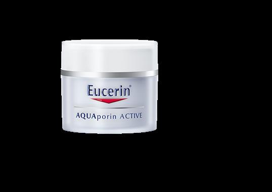 EUCERIN Aquaporin Active intenzivní hydratační krém pro suchou pleť 50ml AKCE +EUCERIN AQUAPORIN ACTIVE HYDRATAČNÍ KRÉM NA OČNÍ OKOLÍ 15ML