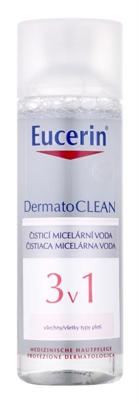 EUCERIN DermatoClean micelární čisticí voda 3v1 Objem: 200 ml