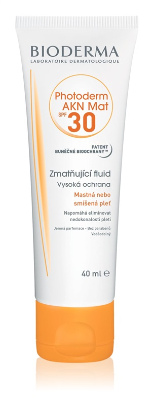 Bioderma Photoderm AKN Mat Fluid SPF30 40 ml