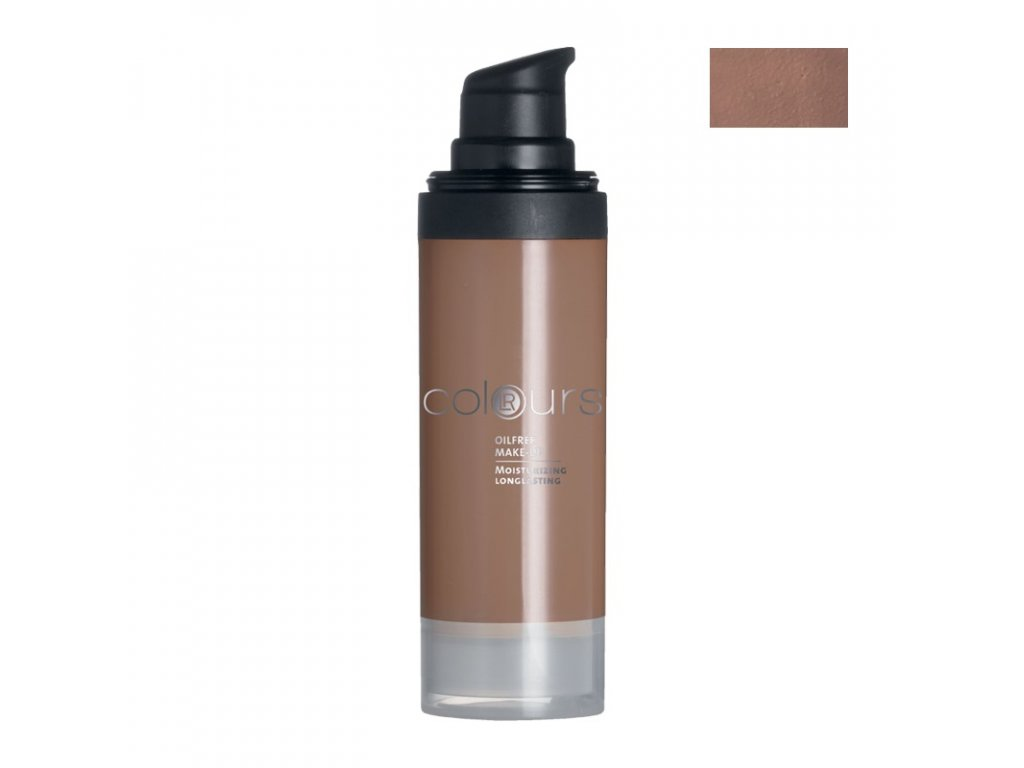 Colours Bezolejový make-up (odstín Dark Caramel) 30 ml