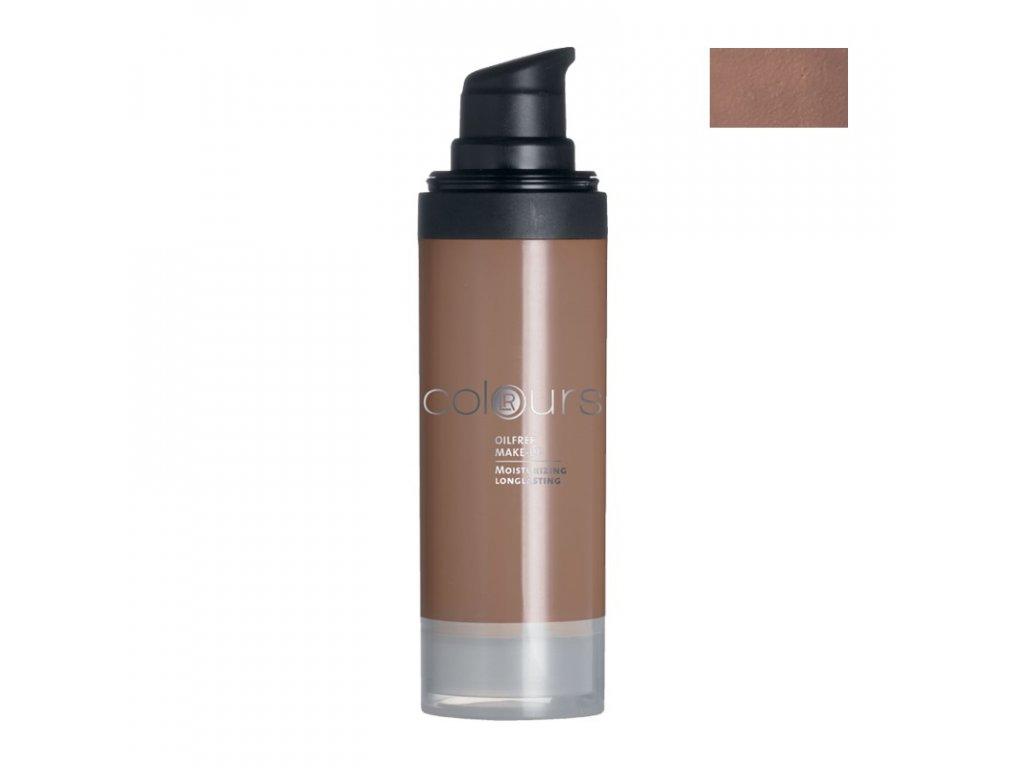 Colours Bezolejový make-up (odstín Dark Caramel) 30 ml