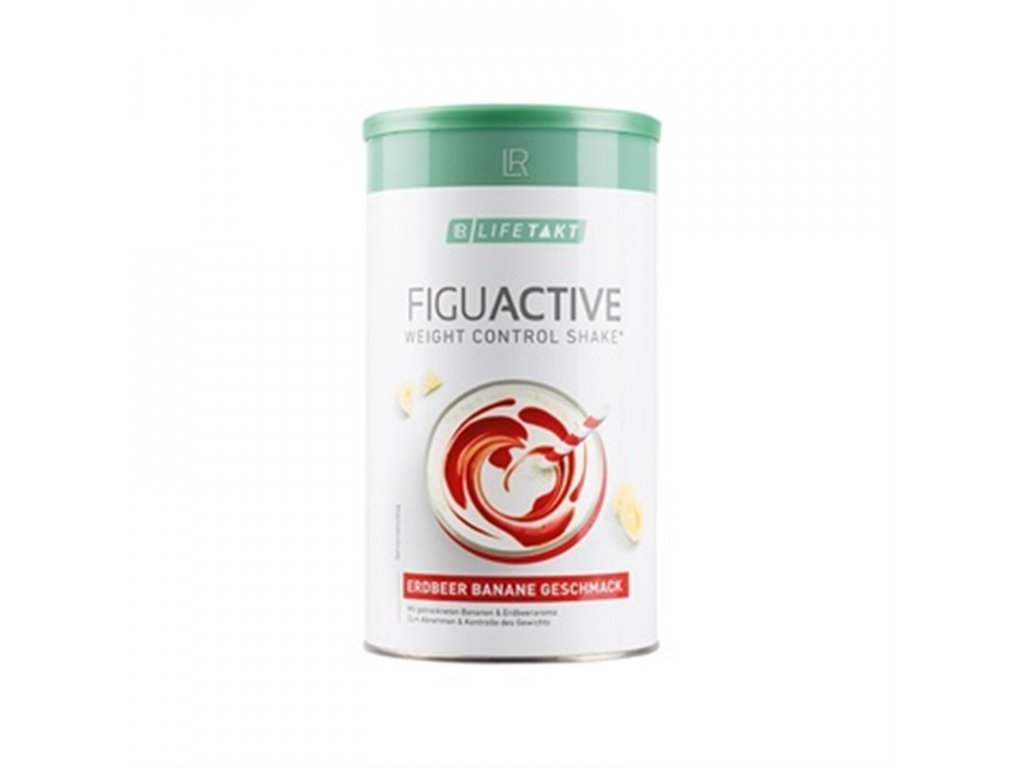 LR LIFETAKT Figu Active Koktejl Jahoda-Banán 450 g