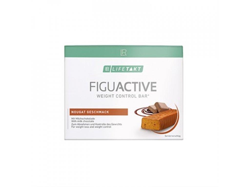 LR LIFETAKT Figu Active Tyčinka s nugátovou příchutí 6x 60 g