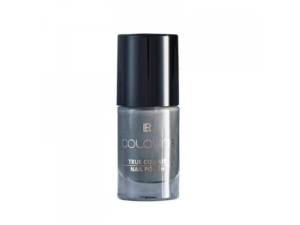 Lak na nehty True Colour Dark Silvergrey 5,5 ml