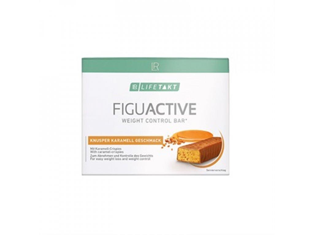 LR LIFETAKT Figu Active Tyčinka Křupavý karamel 6 x 60 g