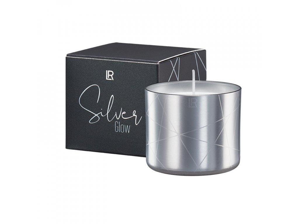 Vonná svíčka Golden Silver Glow - Stimulating Spices 100 g