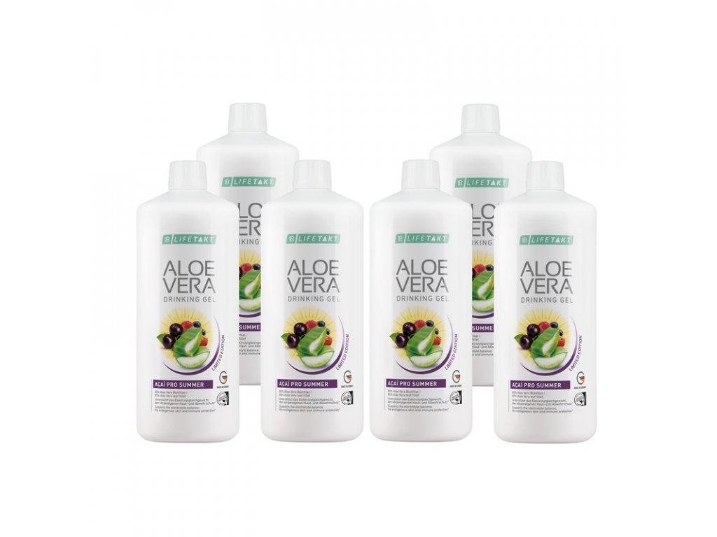 LR LIFETAKT Aloe Vera Drinking Gel Acai Série 6 ks (max. 1 série) 6 x 1 000 ml