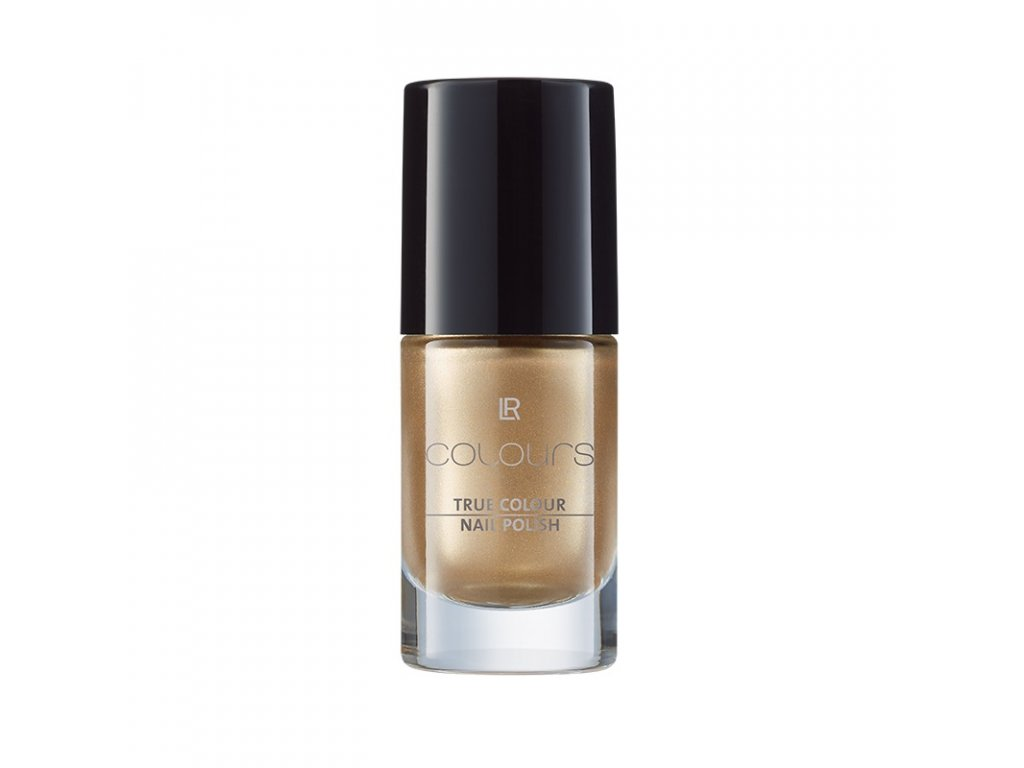 Lak na nehty True Colour Gold Metallic Obsh: 5,5 ml