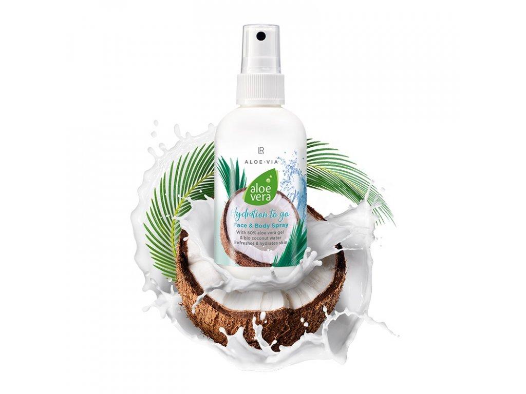Aloe Vera Sprej kokos na obličej & tělo 100 ml
