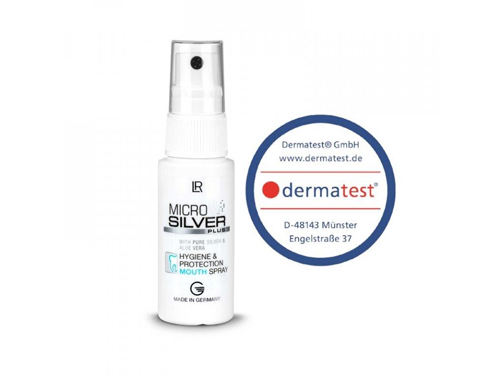 Microsilver Plus Ústní sprej pro hygienickou péči 30 ml
