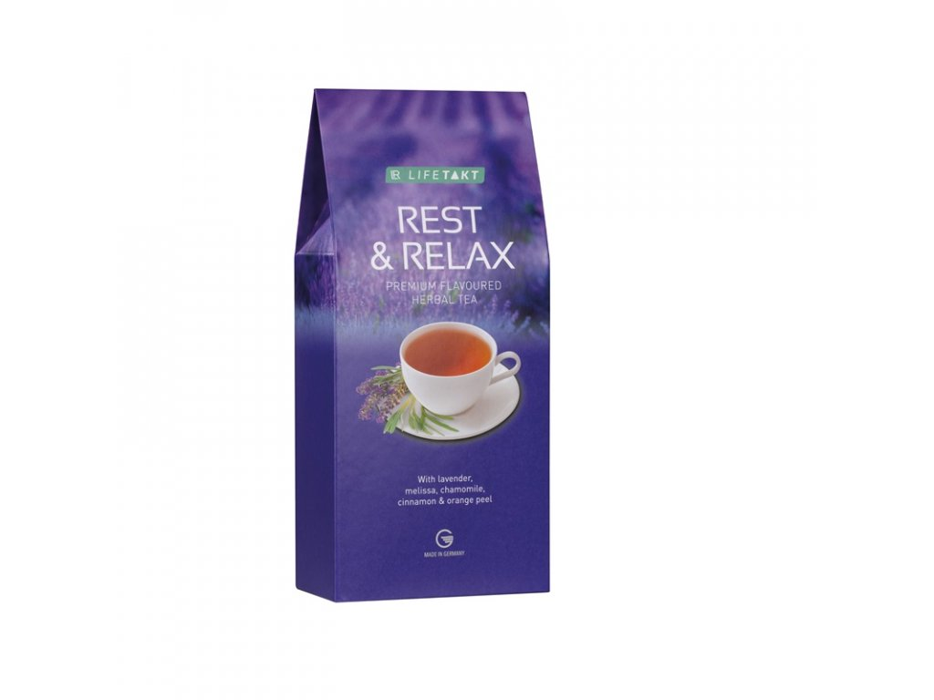 LR LIFETAKT Rest & Relax bylinný čaj s příchutí 75 g