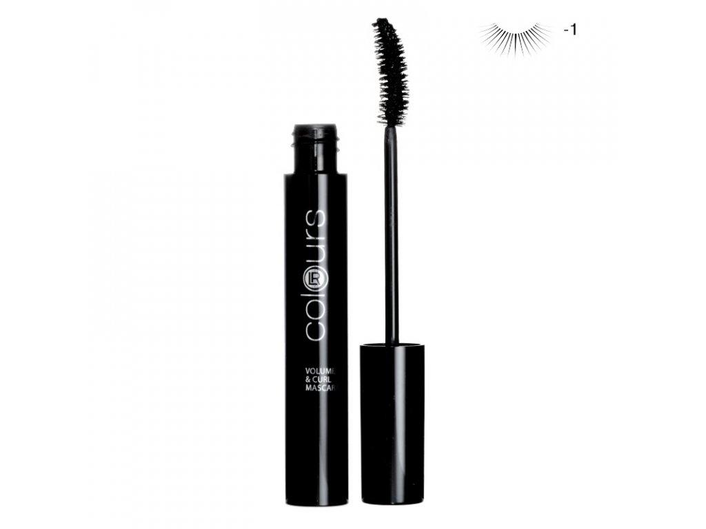 Mascara pro objem a natočení řas (Absolute Black) 10 ml