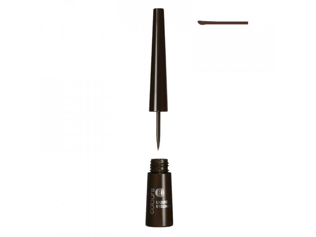 Tekuté oční linky (Dark Brown) 2,5 ml