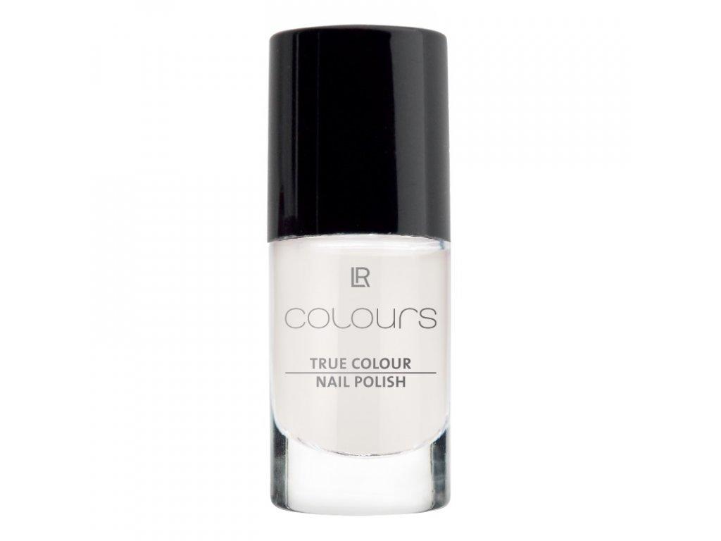 Lak na nehty True Colour (odstín Marshmallow White) 5,5 ml