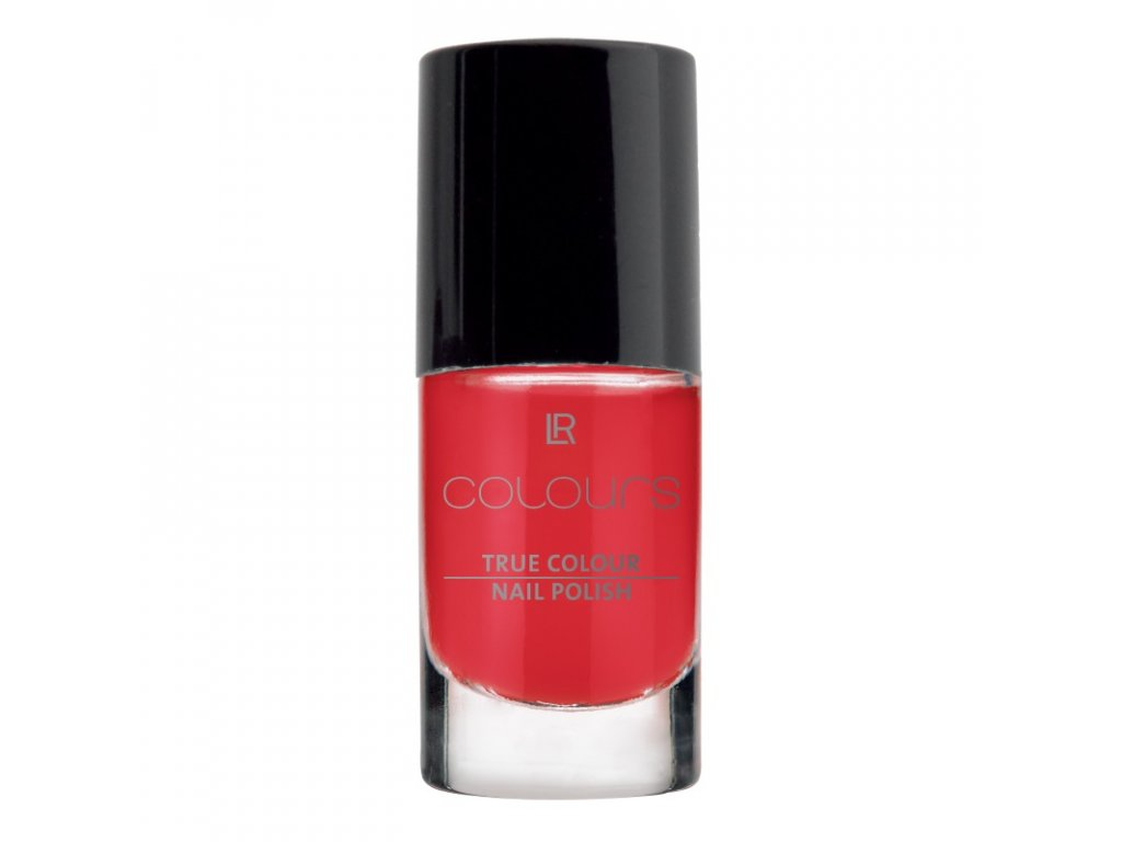 Lak na nehty True Colour (odstín Red Kiss) 5,5 ml