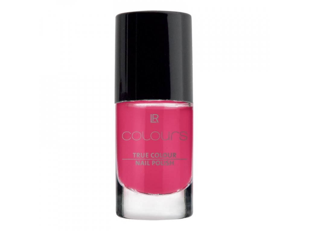 Lak na nehty True Colour (odstín Pink Flamenco) 5,5 ml